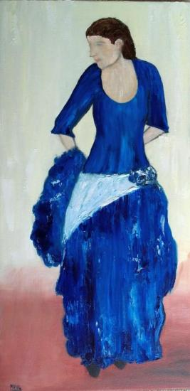 Danseuse de Flamenco 40x80